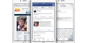 Facebook a lansat Amber Alerts, un serviciu pentru găsirea copiilor dispăruţi