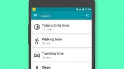 Aplicatia Instant iti ofera nenumarati senzori de miscare