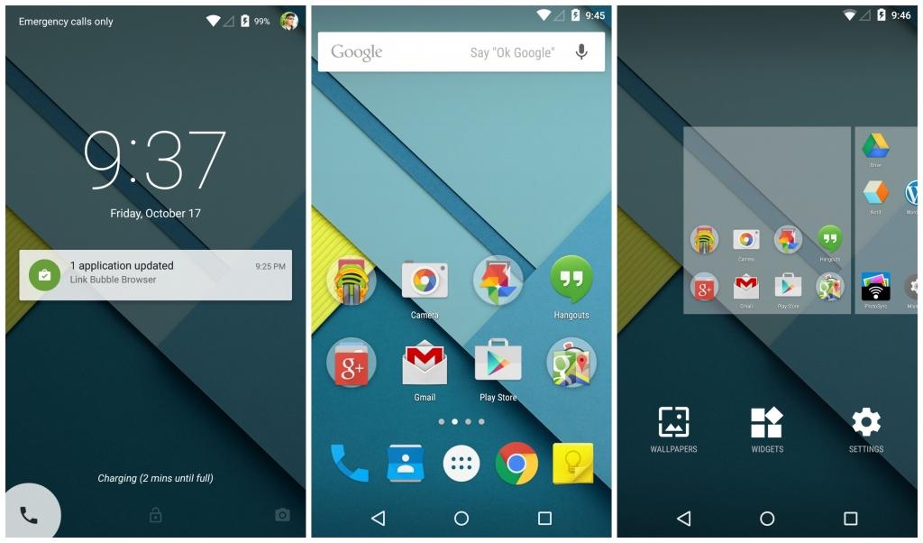 Android-5.0-Lollipop-homescreen