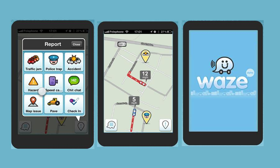 Waze-navigation-app