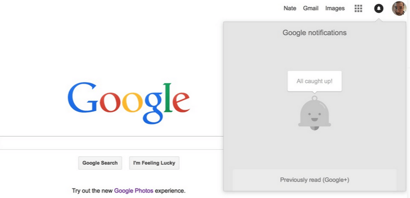 notificari googlw
