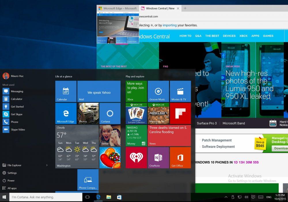 windows-10-build-10558-desktop