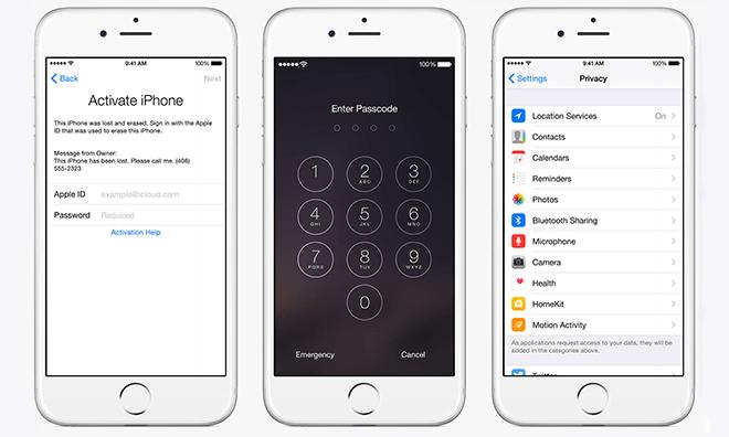 criptare iPhone