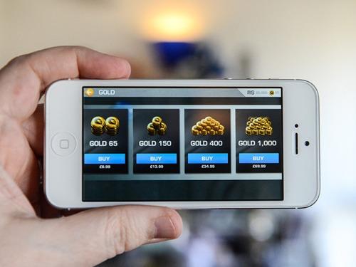 Achizitii in app jocuri mobil