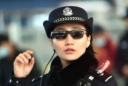 ochelari recunoastere faciala china