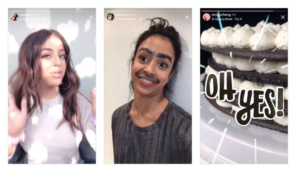 filtre ar instagram
