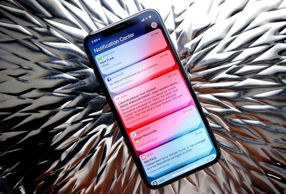 notificari ios 12