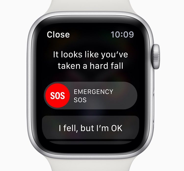Apple Watch Series 4 SOS