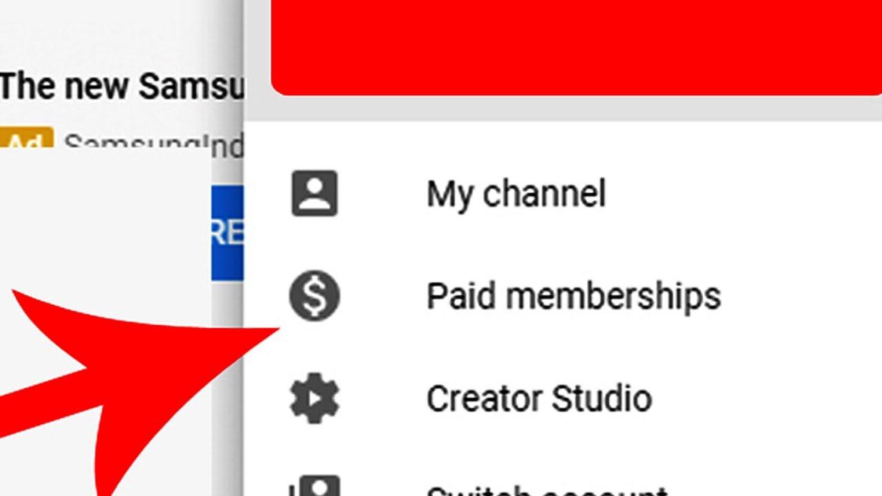 youtube membreship