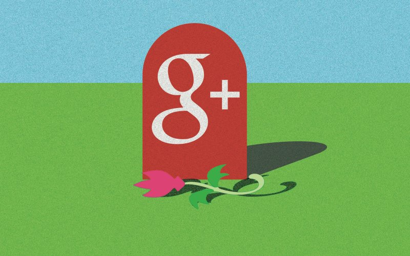 inchidere google+