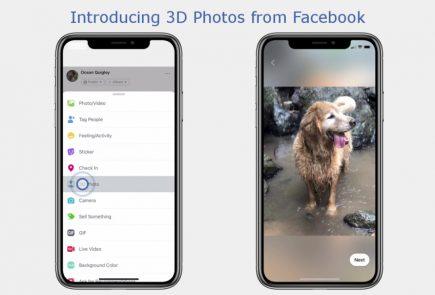 fotografii 3D Facebook