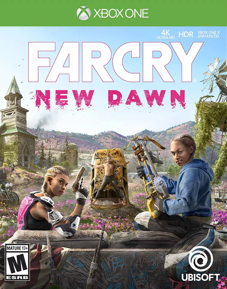 far cry: new dawn cover