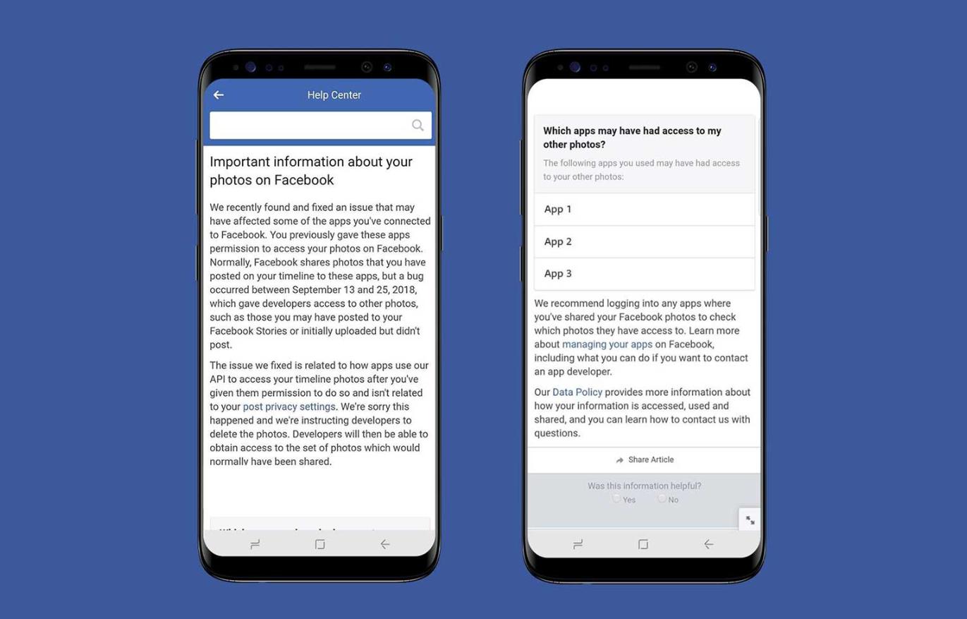 notificare poze private facebook