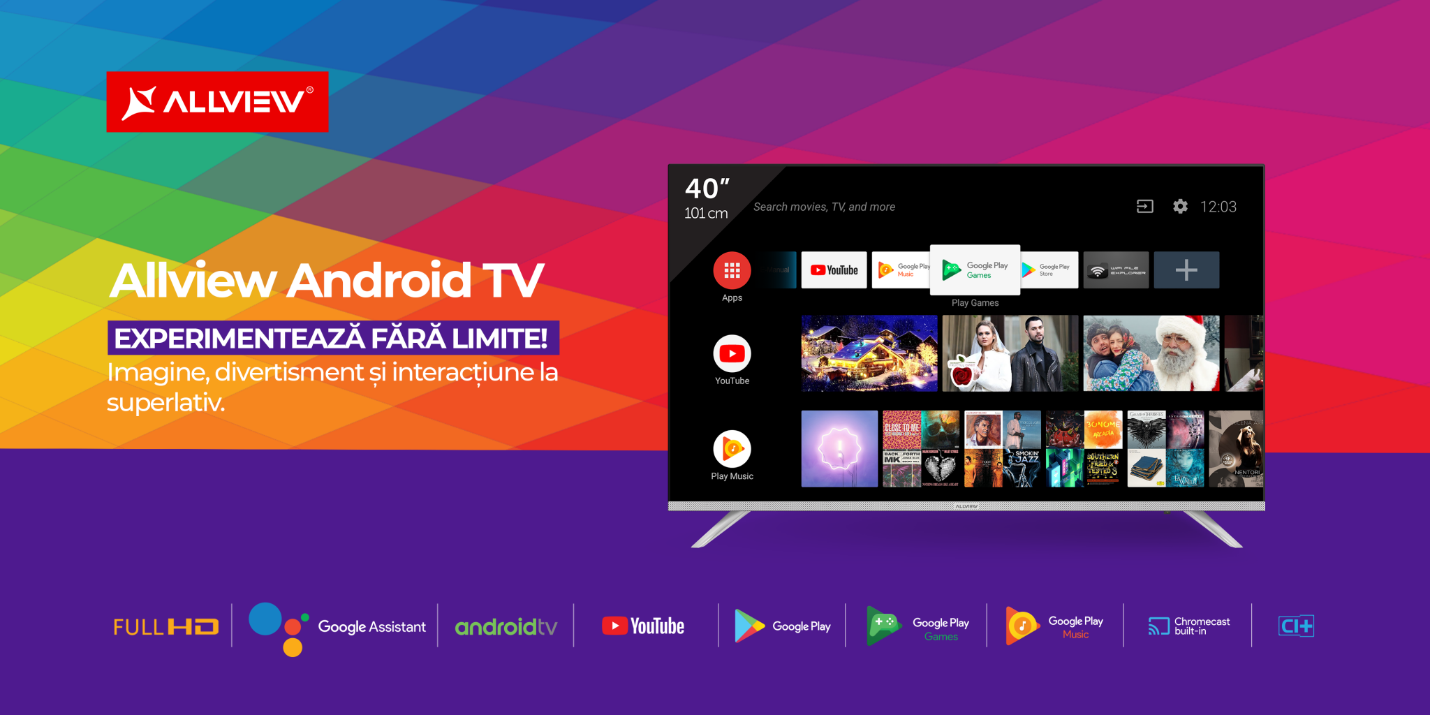 allview android tv 40 inchi