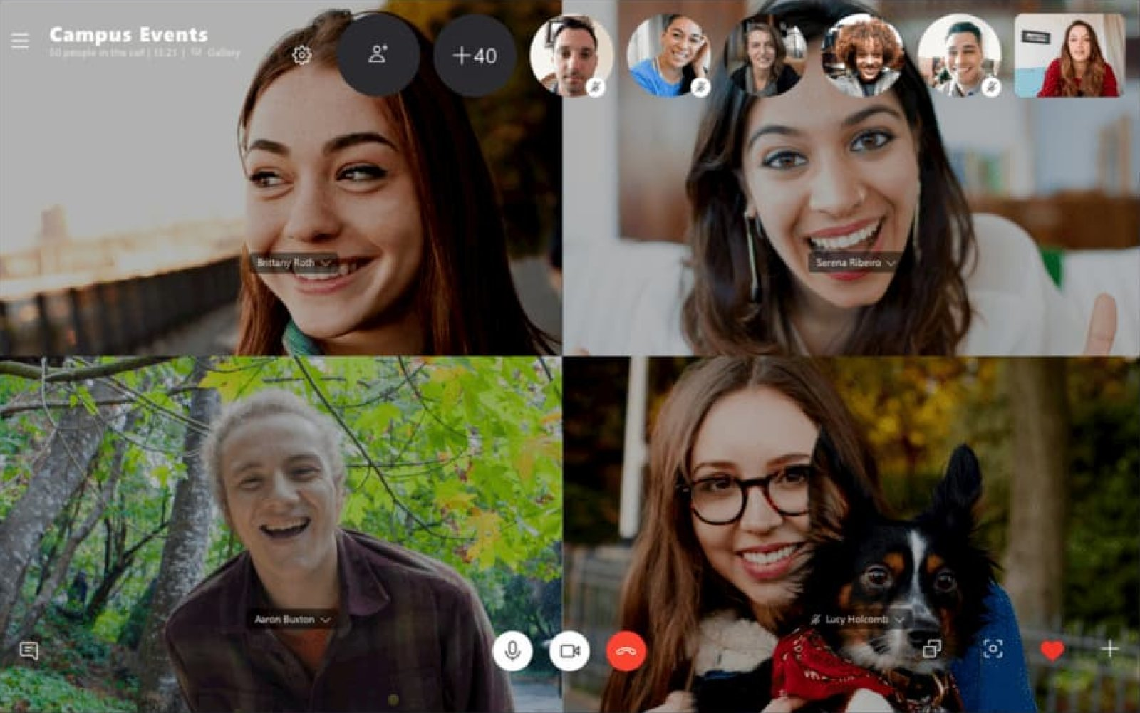 apeluri grup skype