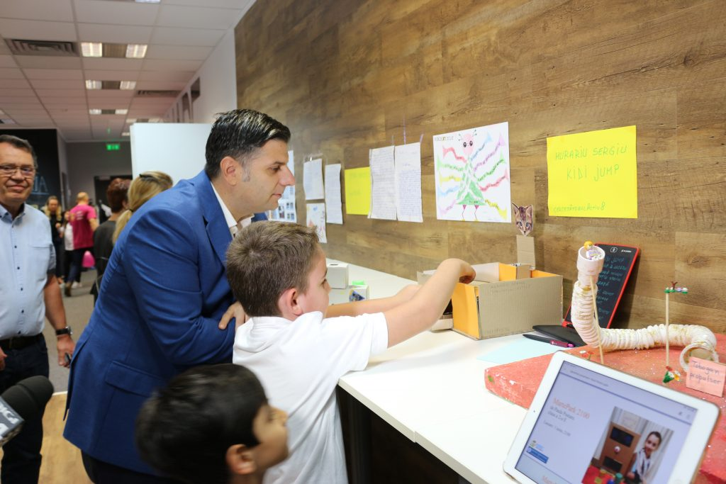 Alexandru Petrescu Kidibot Start-Up România