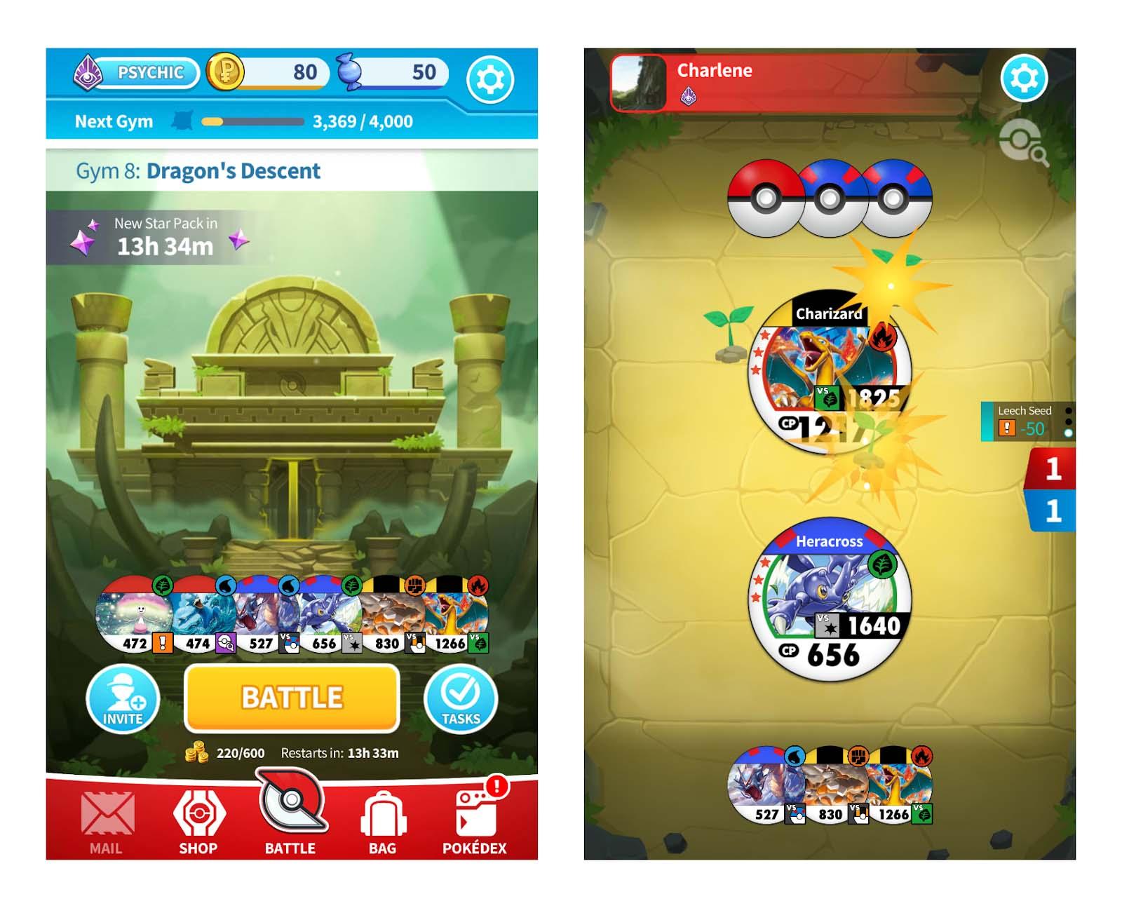 Pokemon medallion Battle facebook