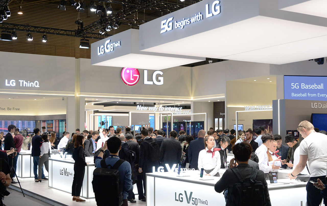 stand lg mobile world congress
