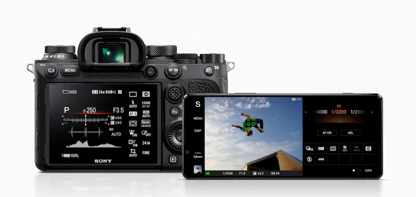 camera Sony Xperia 1 II