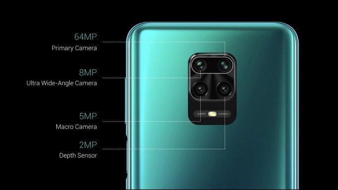 camere foto Redmi Note 9 Pro Max