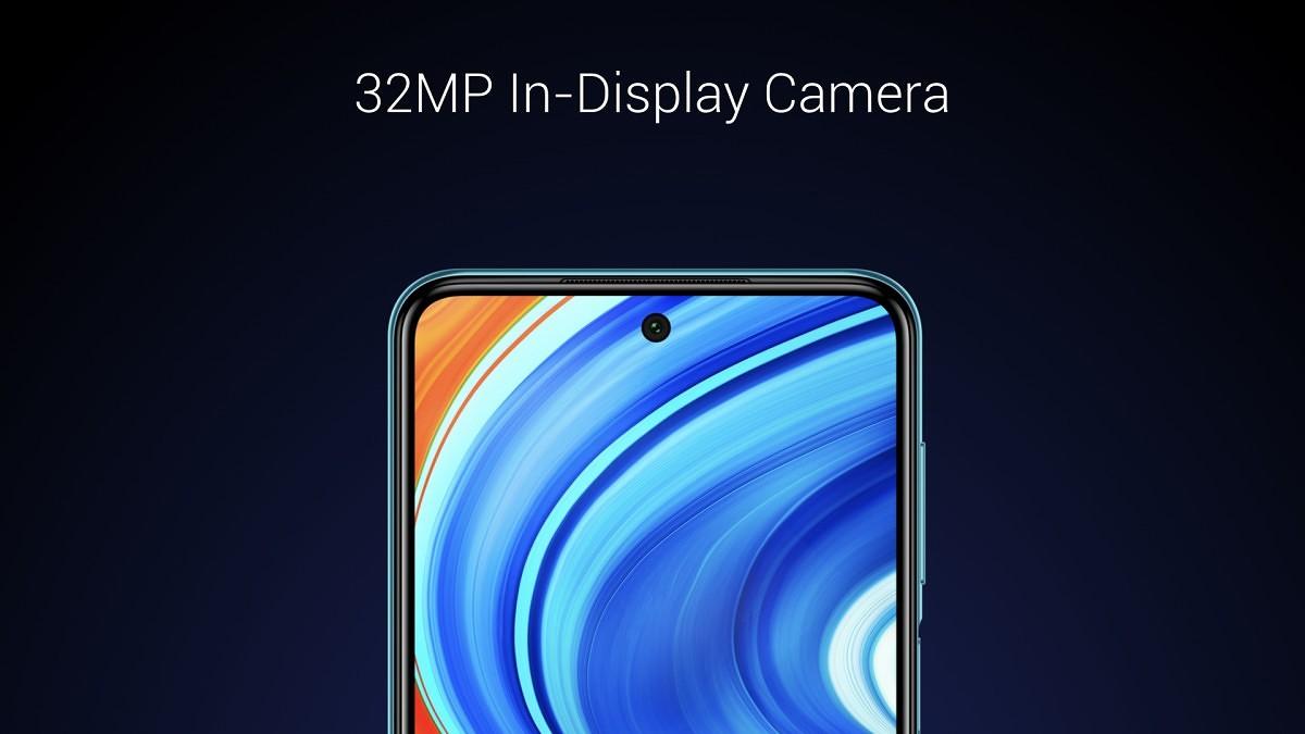camera frontala Redmi Note 9 Pro Max