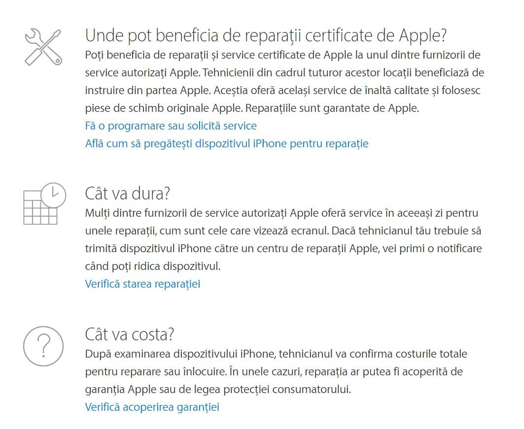 service telefon apple