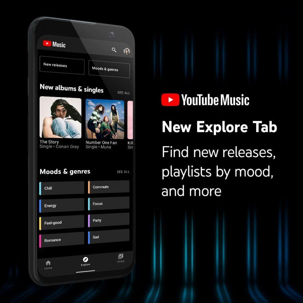 youtube music explorare