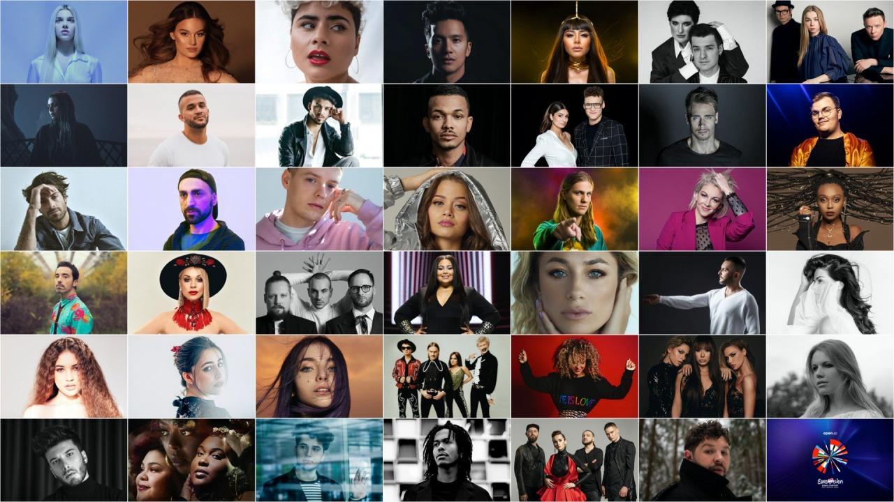 concurenti eurovision 2020