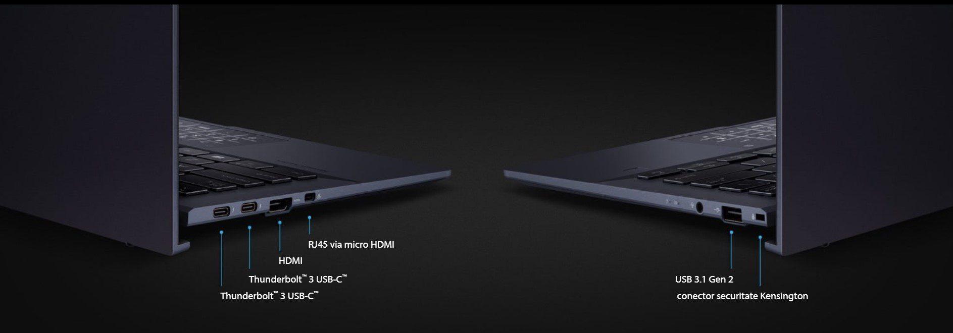 porturi asus ExpertBook B9450