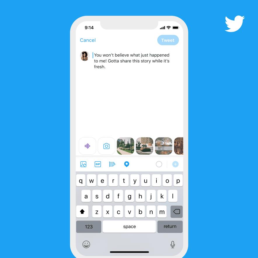 voice tweets