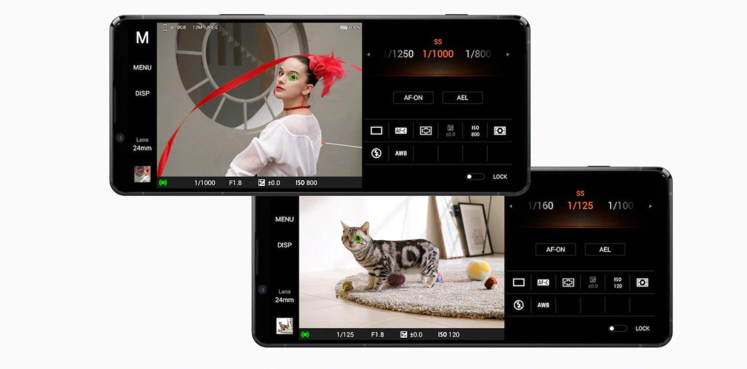 mod fotografiere pro Sony Xperia 1 II