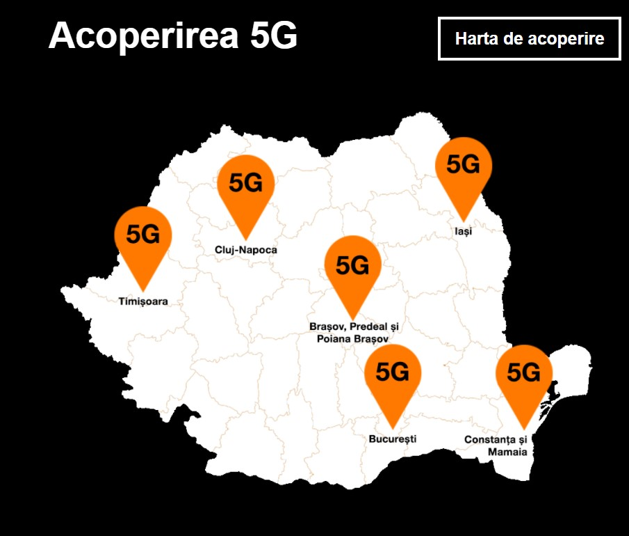 orange 5g bucurești