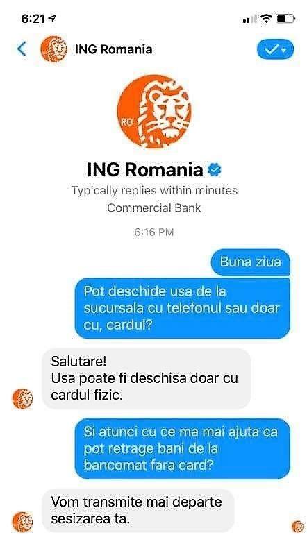 retrageri bancomatele ING