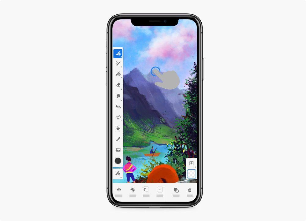 adobe fresco iphone