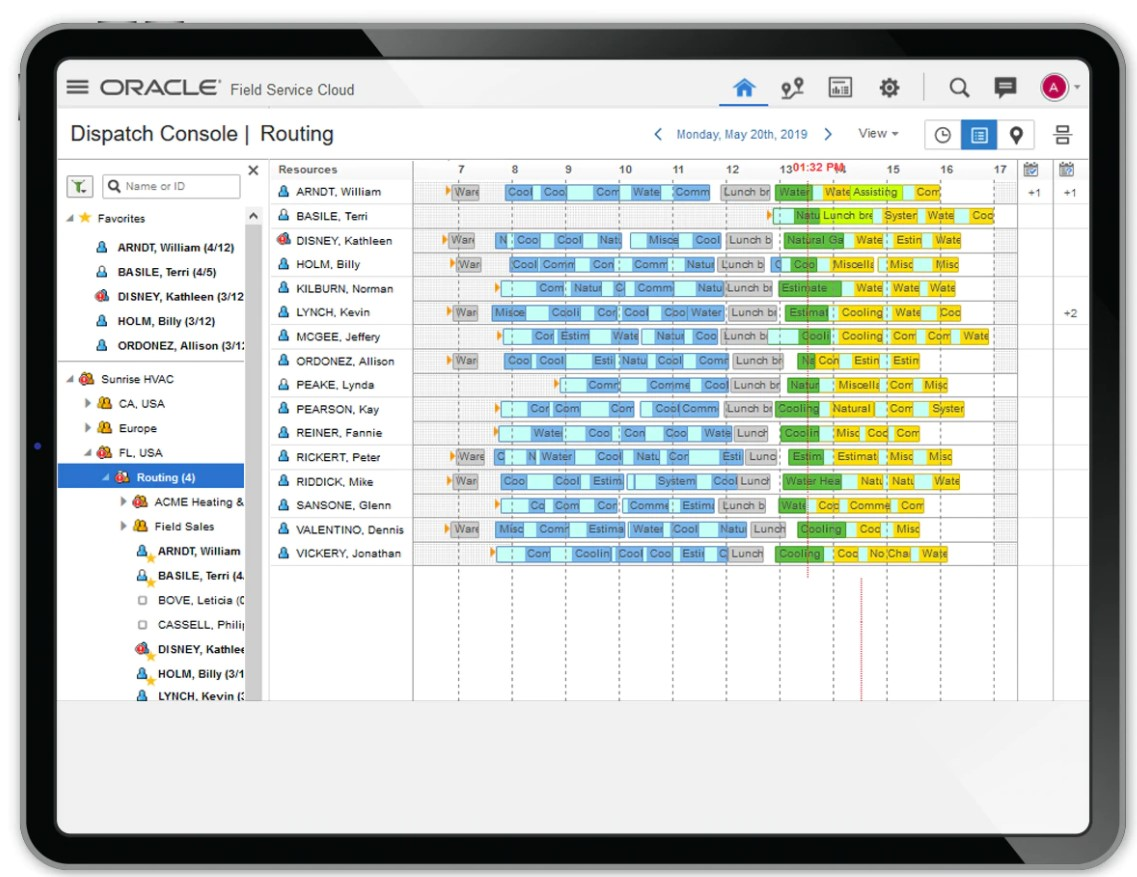 telekom utilizeaza Oracle Field Service
