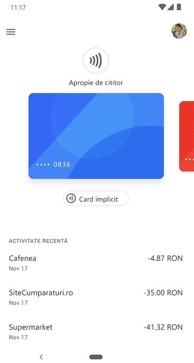 google pay romania