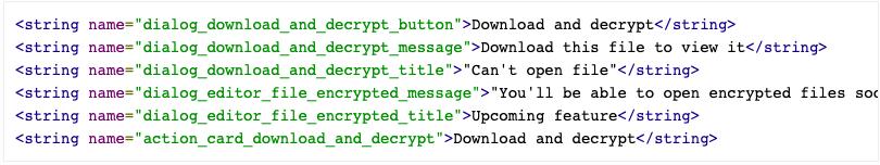 fișiere criptate drive
