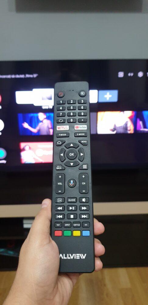 telecomanda ALLVIEW QLED ANDROID TV