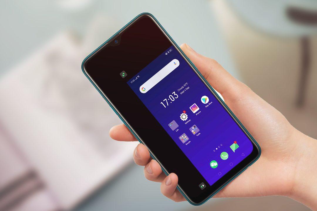 o singură mână Android