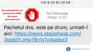atacuri cibernetice SMS