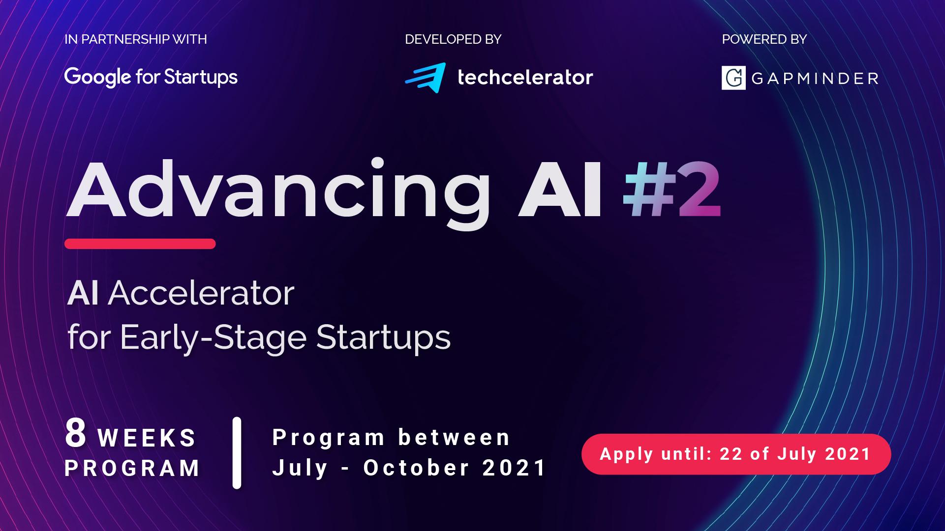 Techcelerator lansează 100 AI Startups