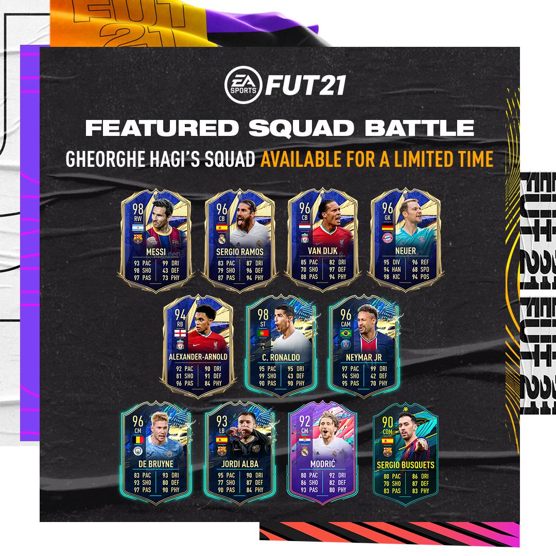 hagi ultimate team