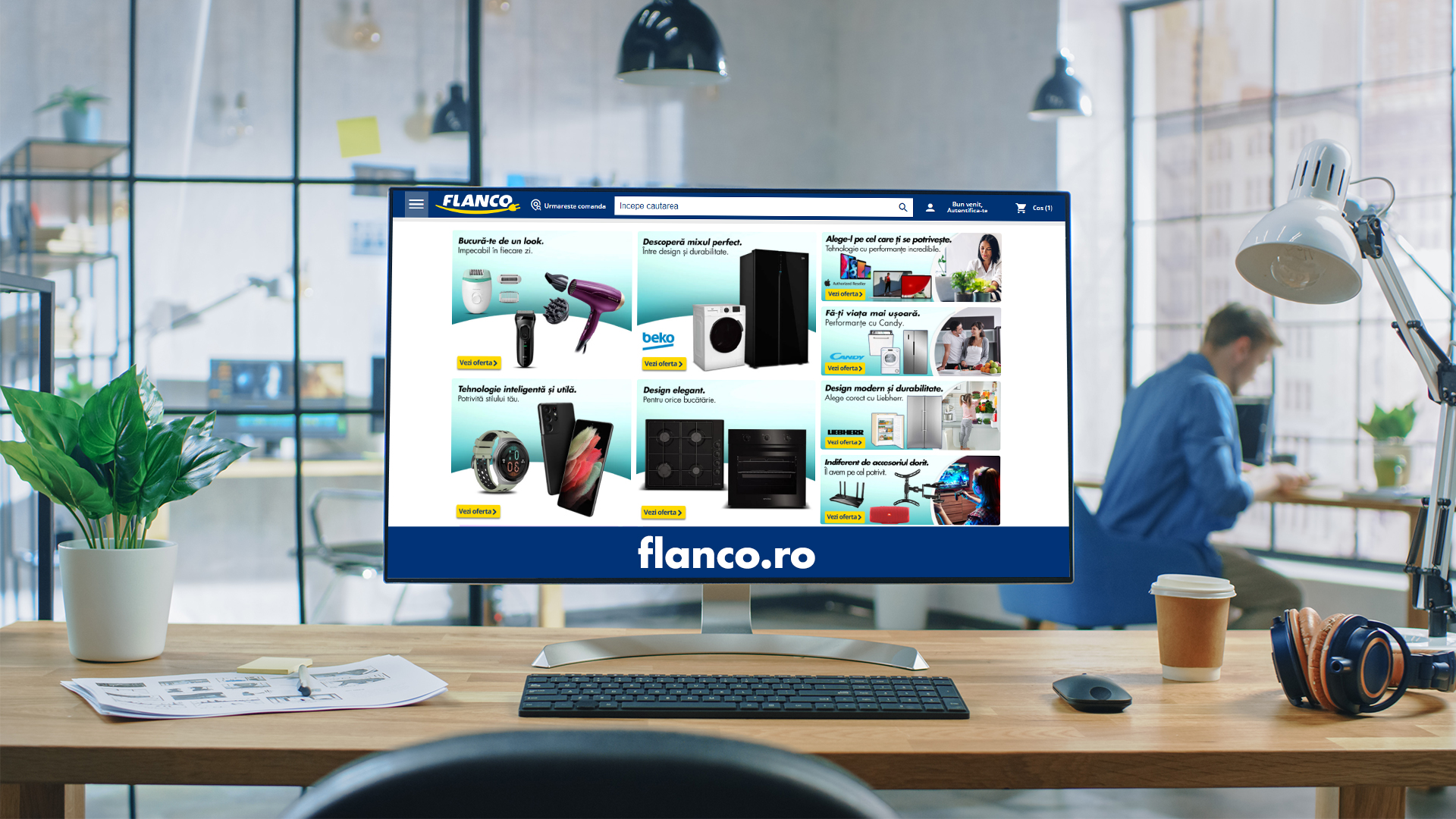 digitalizarea flanco