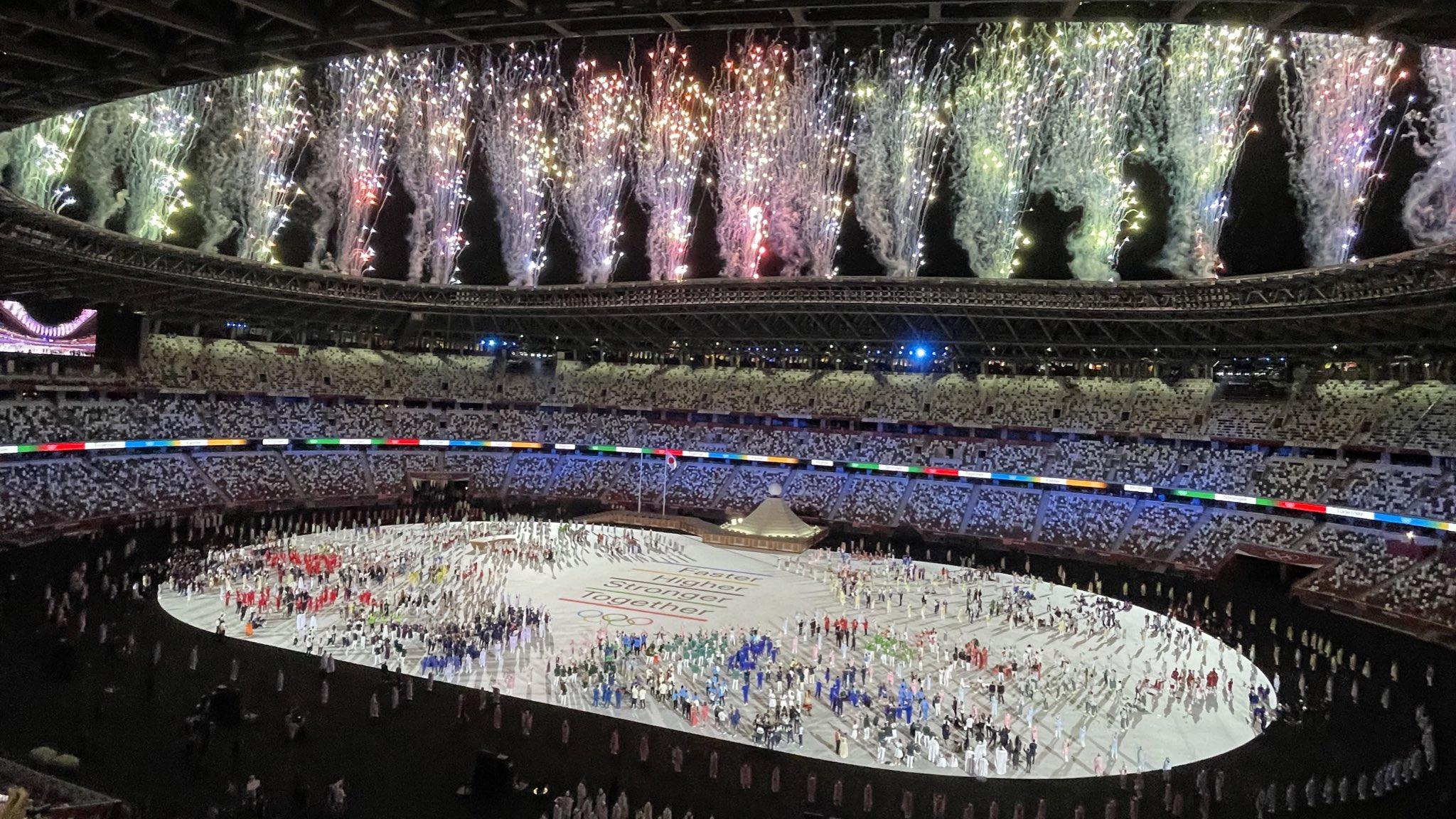 ceremonia de deschidere a jocurilor olimpice