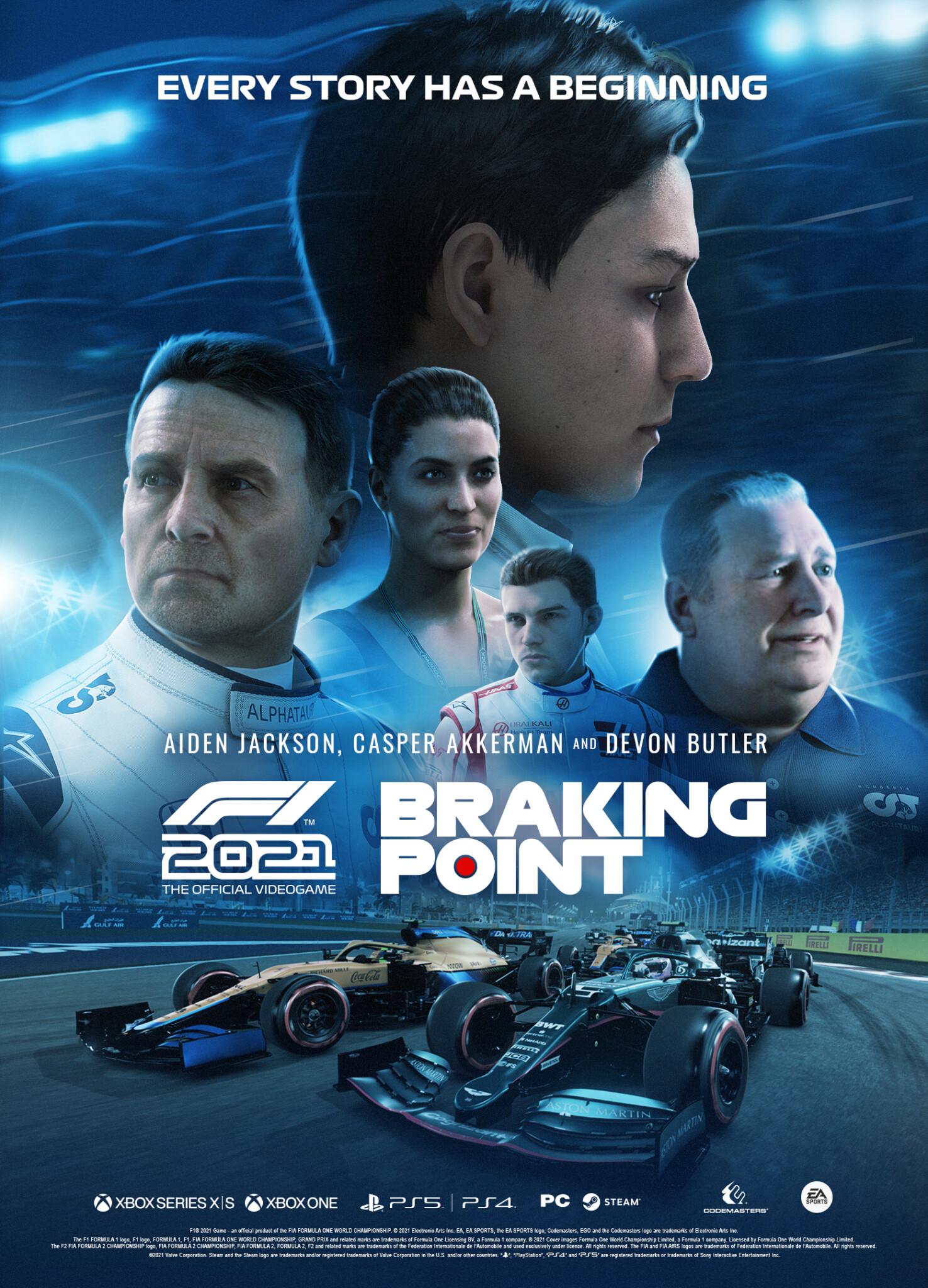 Braking Point F1 2021