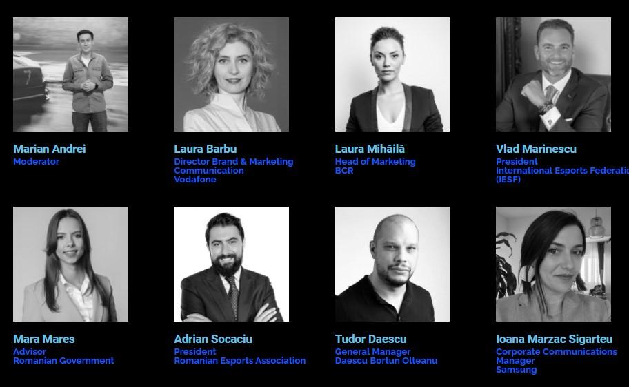 speakeri Esports Summit Bucharest 2021