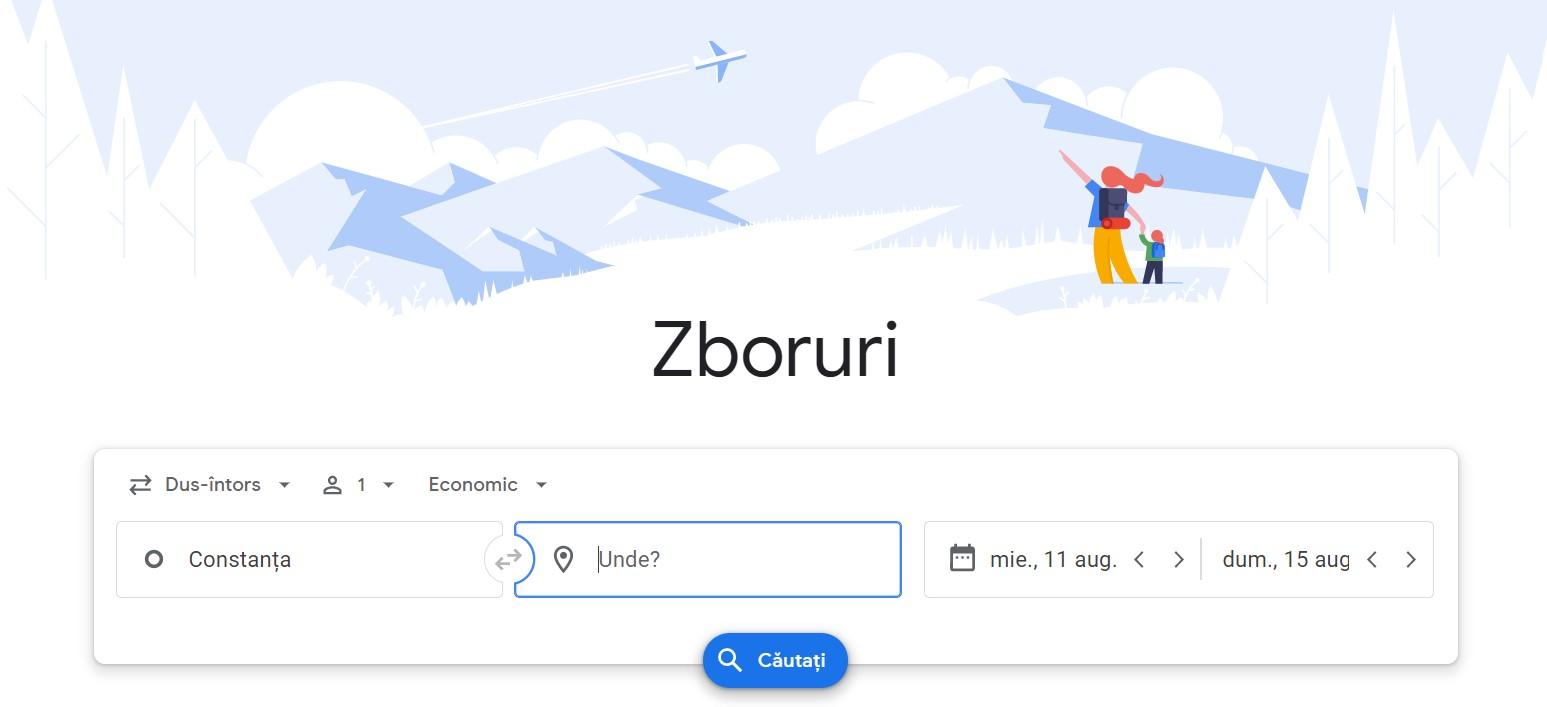 google zboruri hoteluri
