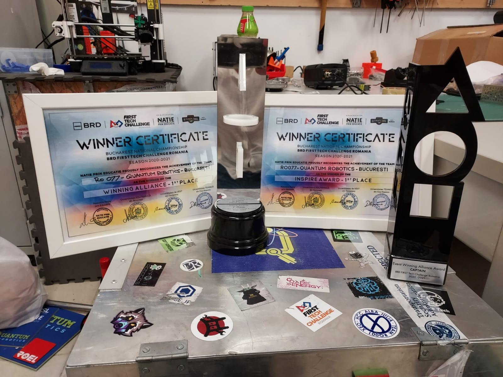 câștigătorul BRD First Tech Challenge România