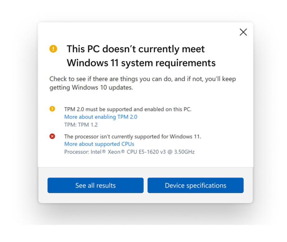 compatibilitate windows 11