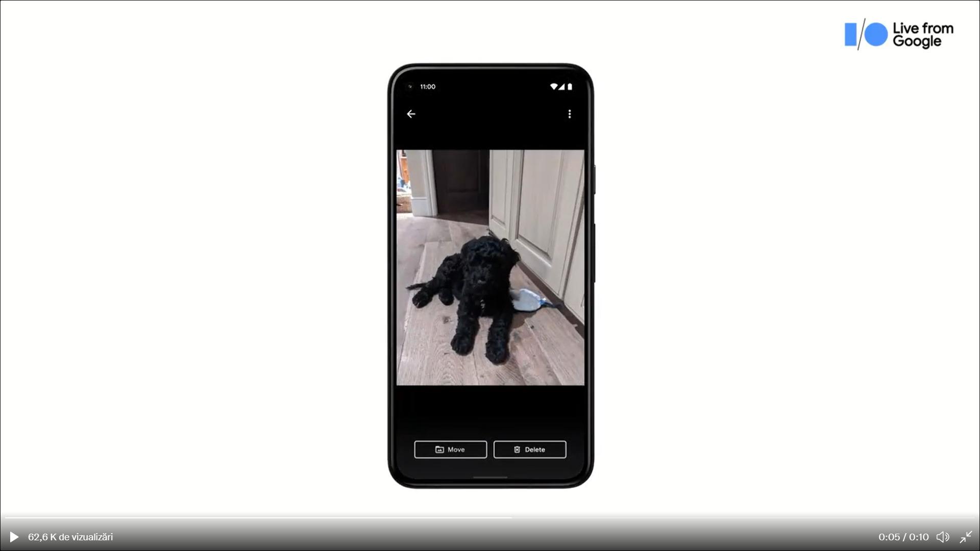 folder securizat google photos